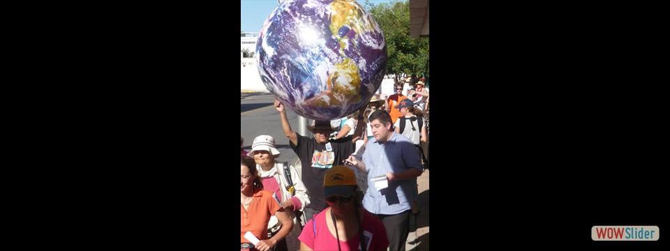 UN climate March 8